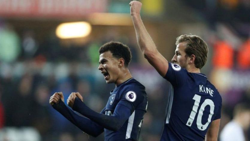 Tottenham vence como comodidad al Swansea (0-2)