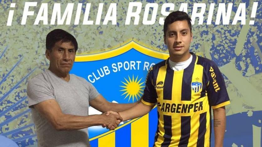 Joaquín Aguirre es el sexto fichaje de Sport Rosario