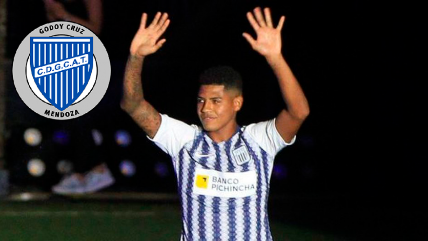 Wilder Cartagena fue oficializado como nuevo refuerzo de Godoy Cruz