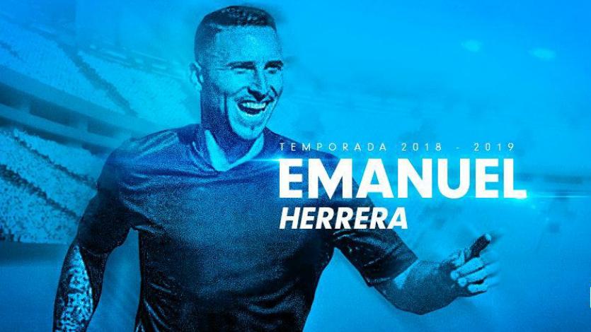 Emanuel Herrera es el nuevo delantero de Sporting Cristal