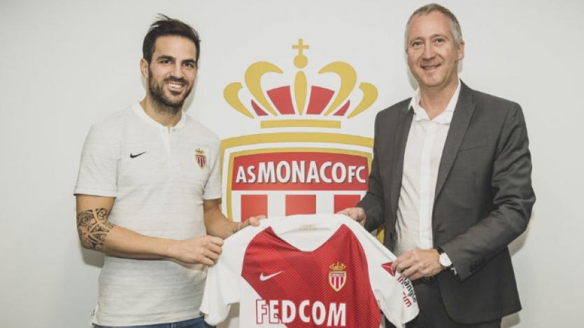 Oficial: Cesc Fábregas es nuevo jugador del Mónaco