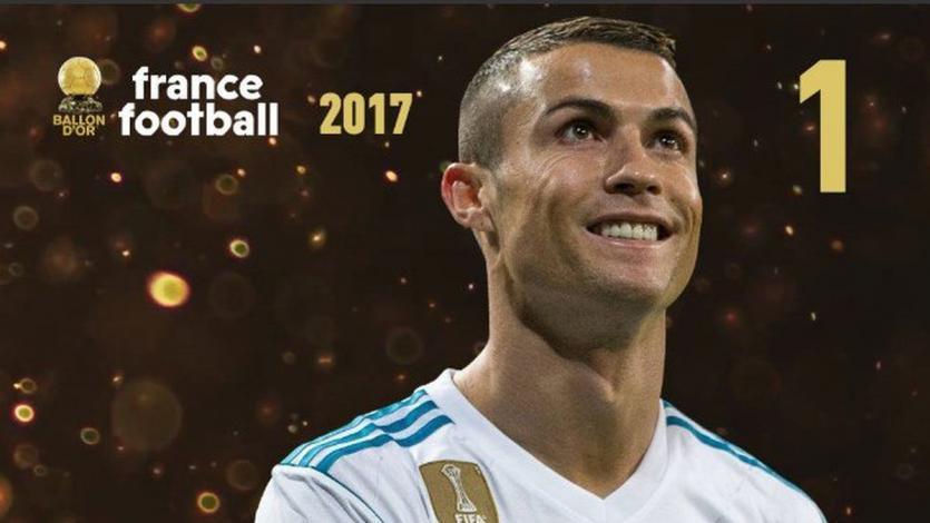 Balón de Oro: Cristiano Ronaldo logra su quinto trofeo e iguala a Messi
