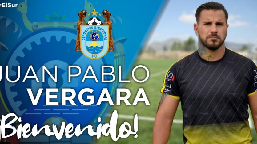 Deportivo Binacional: Juan Pablo Vergara es su nuevo refuerzo