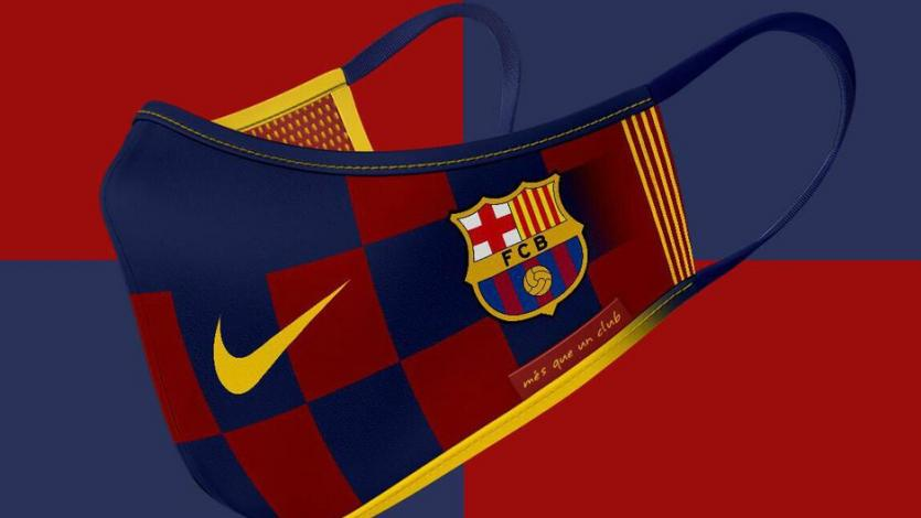 La Liga: Barcelona pondrá a la venta mascarillas personalizadas y así serían