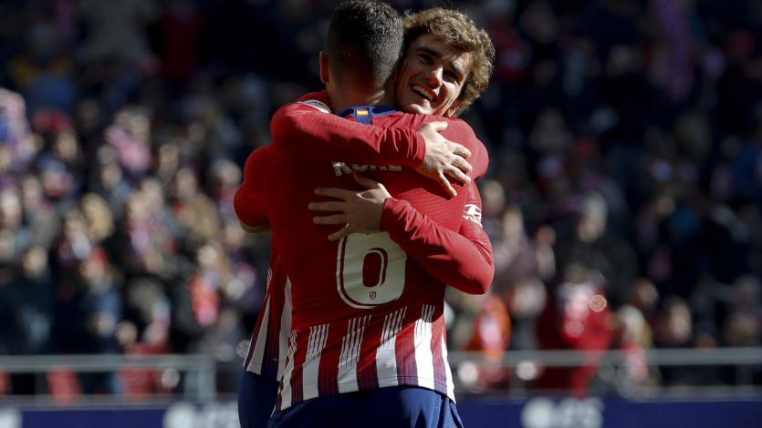 Atlético Madrid supera por la mínima diferencia al Levante