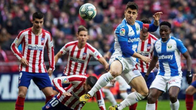 Atlético Madrid continúa en crisis y no pudo como local ante el Leganés