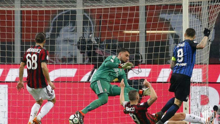 AC Milan e Inter igualaron sin goles en el 'Derbi della Madonnina'