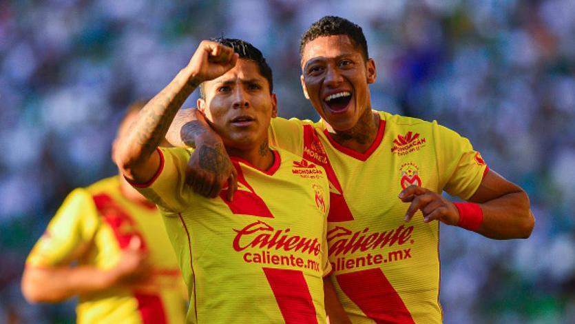 Morelia, con Ruidíaz y Sandoval, inicia los play offs en la Liga MX