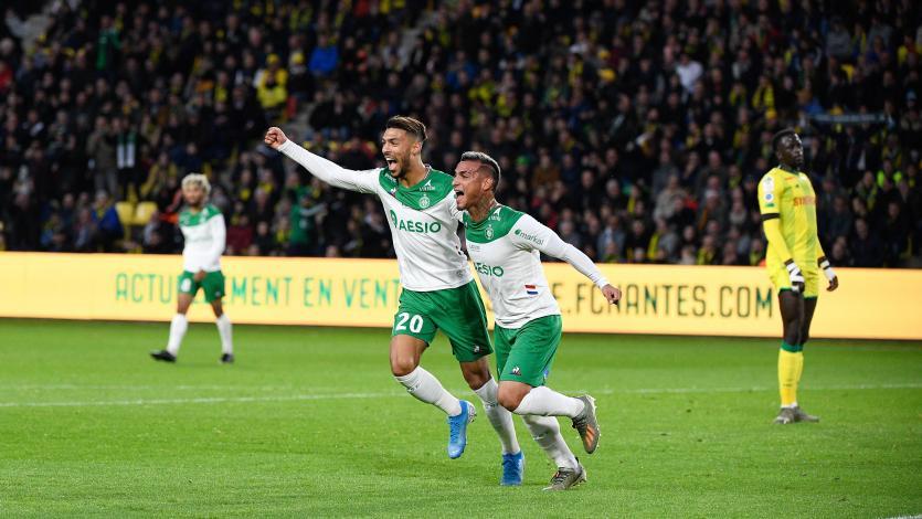 Con gol y asistencia de Miguel Trauco, Saint-Etienne superó 3-2 al Nantes (VIDEO)
