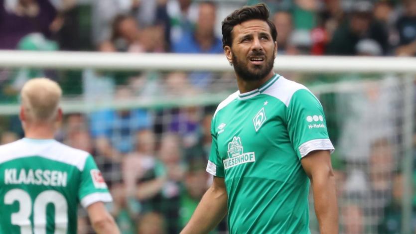 Claudio Pizarro dio asistencia de gol en amistoso del Werder Bremen