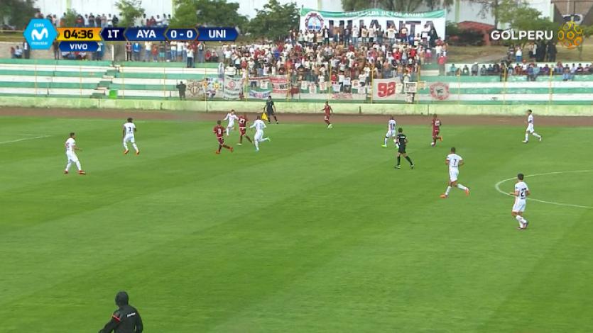 Ayacucho FC venció 4-2 a Universitario de Deportes