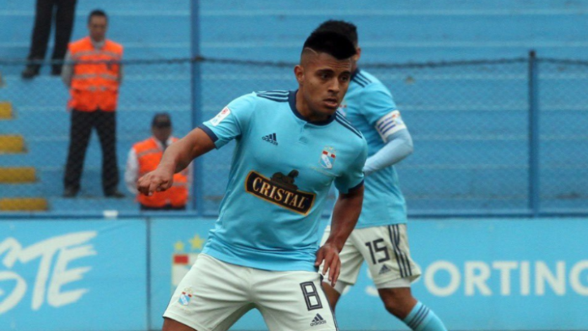 Sporting Cristal cedió a préstamo al juvenil José María Inga Guerrero a Ayacucho FC