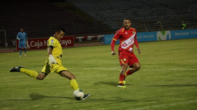Sport Huancayo y Binacional no se hicieron daño tras igualar 0-0 en la 'Incontrastable'
