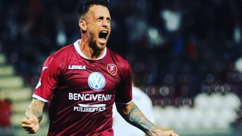 Germán Denis volvió a marcar un doblete y le dio un nuevo triunfo al Reggina (VIDEO)