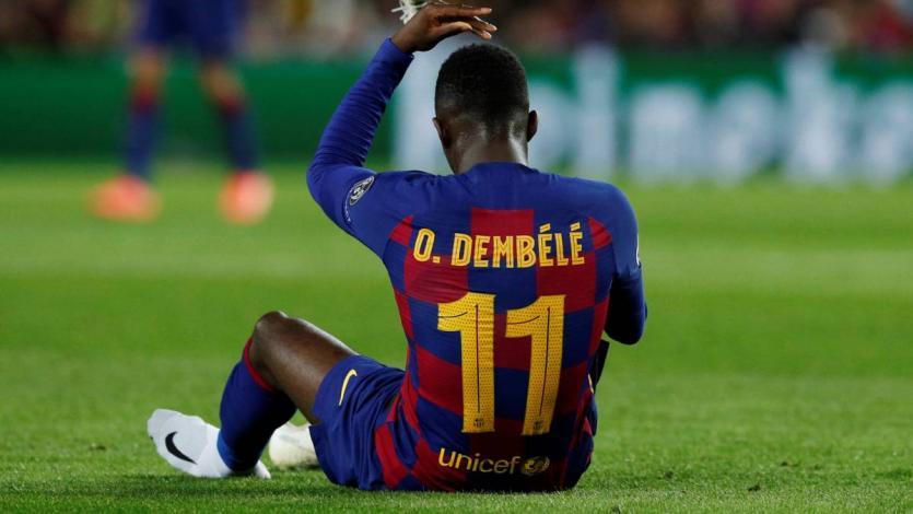 Barcelona: Ousmane Dembele estará dos meses y medio de baja
