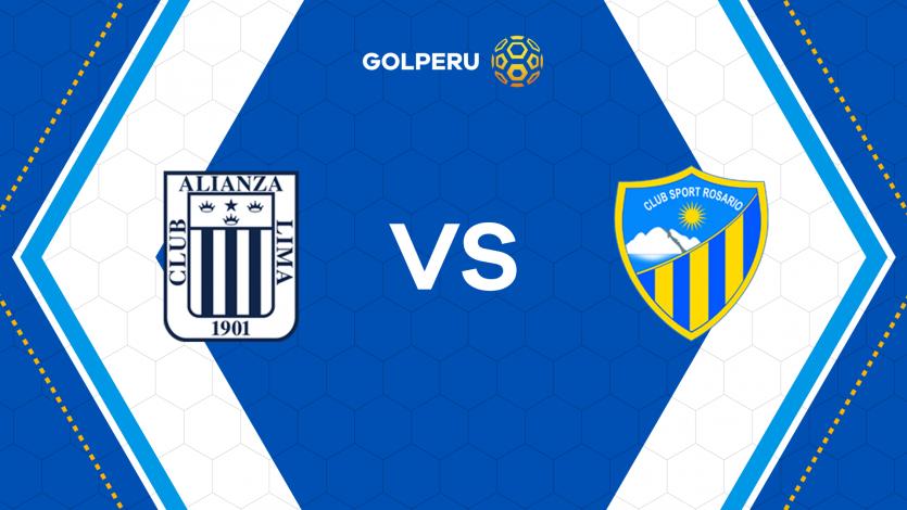 Alianza Lima y Sport Rosario miden fuerzas en Matute