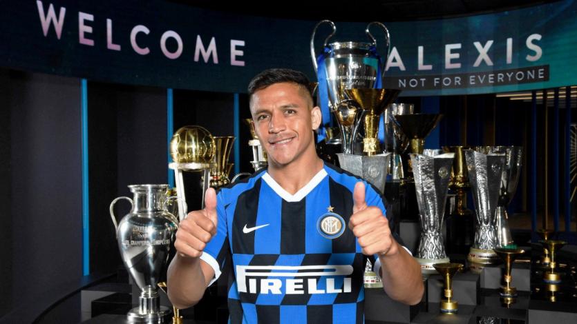 Oficial: Alexis Sánchez es nuevo jugador del Inter