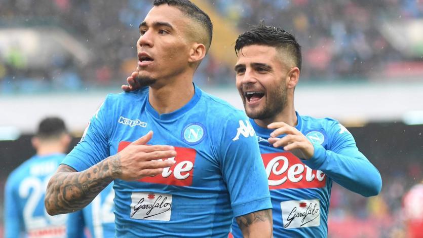 Serie A: Napoli vuelve al liderato del Calcio
