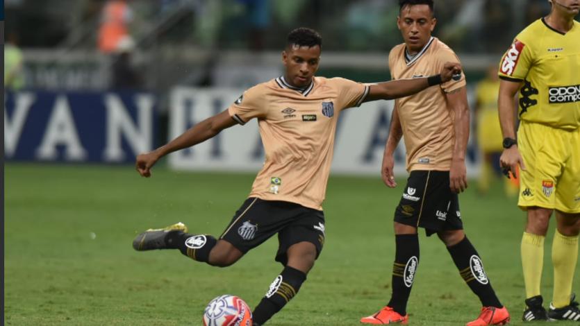 Con Christian Cueva, Santos igualó sin goles como visitante ante Palmeiras