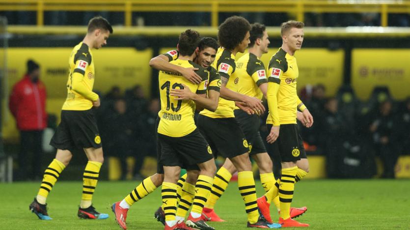 Borussia Dortmund amplía ventaja en lo más alto de la Bundesliga