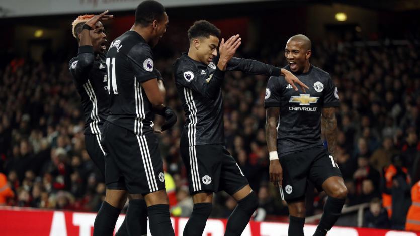Premier League: Manchester United venció y hundió más al Arsenal