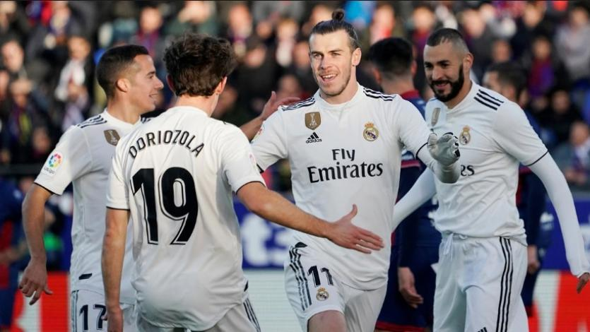 Gareth Bale le da un nuevo triunfo al Real Madrid