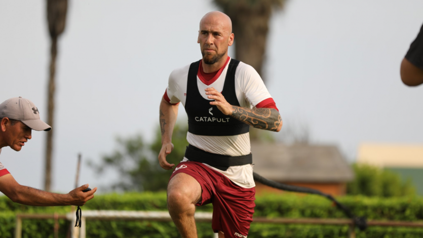 Guillermo Rodríguez cumplió con su primer entrenamiento en Universitario
