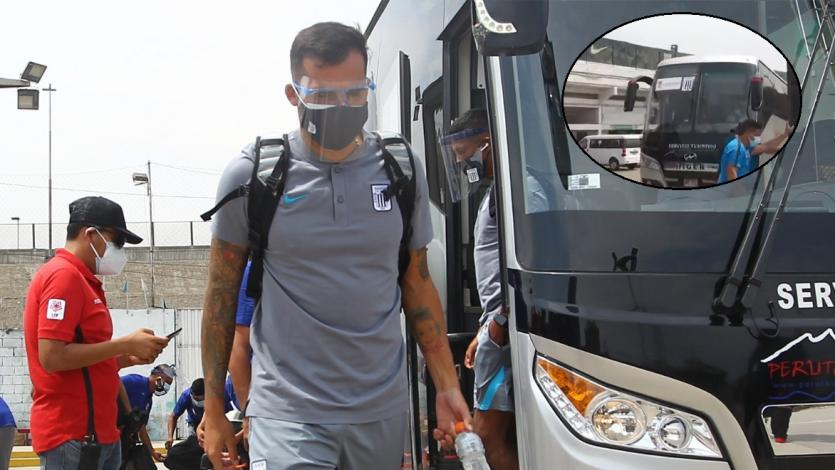 Alianza Lima: revive su recorrido al estadio Alberto Gallardo previo al debut (VIDEO)