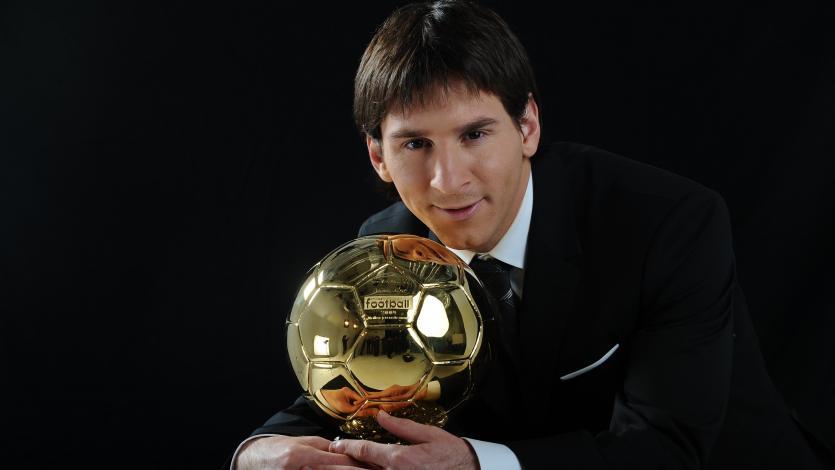 Un día como hoy: Lionel Messi ganaba su primer Balón de Oro