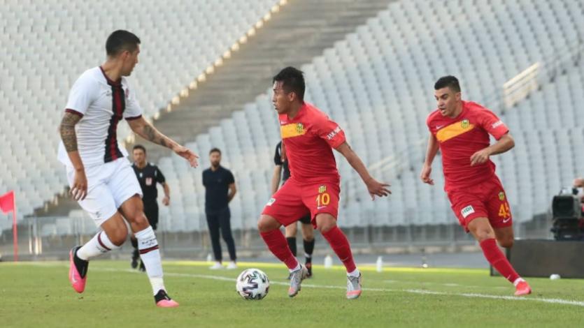 Christian Cueva debutó con el Yeni Malatyaspor en el inicio de la Superliga de Turquía