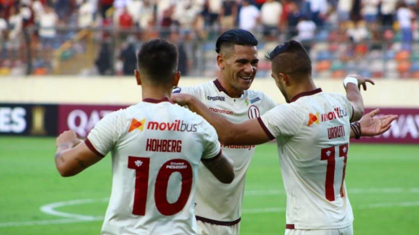 Copa Libertadores: Universitario igualó en casa con Cerro Porteño en el juego de ida