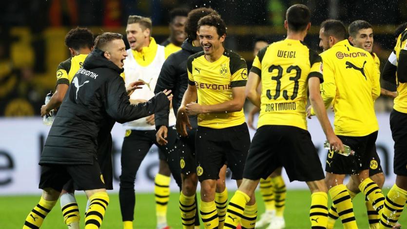 Borussia Dortmund se apodera de la punta de la Bundesliga
