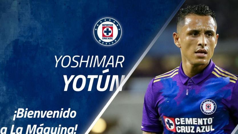 OFICIAL: Yoshimar Yotún es el nuevo refuerzo del Cruz Azul