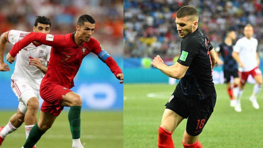 Rusia 2018: Cristiano Ronaldo y Ante Rébic fueron los más rápidos del Mundial