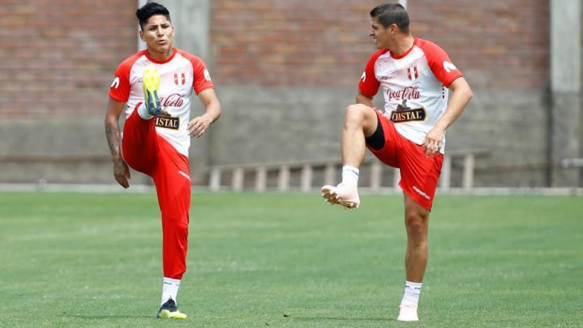 Con Ruidíaz, la selección peruana entrena en el Estadio Nacional