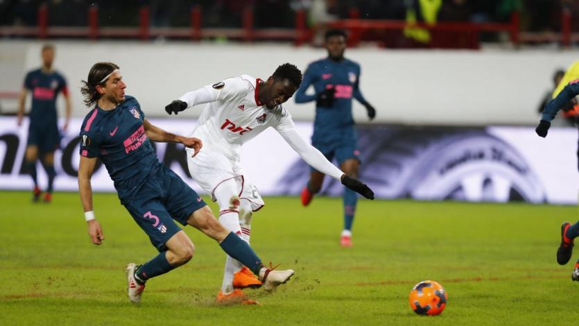 Farfán y el Lokomotiv quedaron eliminados de la Europa League