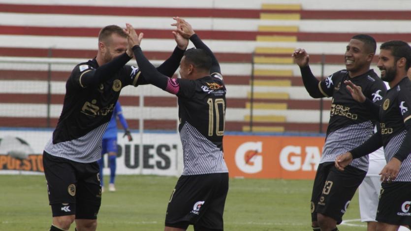 Cusco FC venció 2-1 a San Martín en el Callao con Alfredo Ramúa de figura (VIDEO)