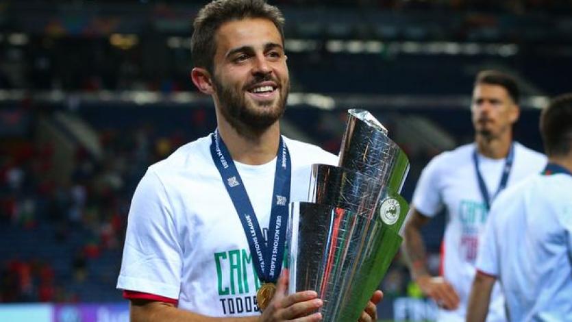 Bernardo Silva cierra la temporada con cinco títulos bajo el brazo