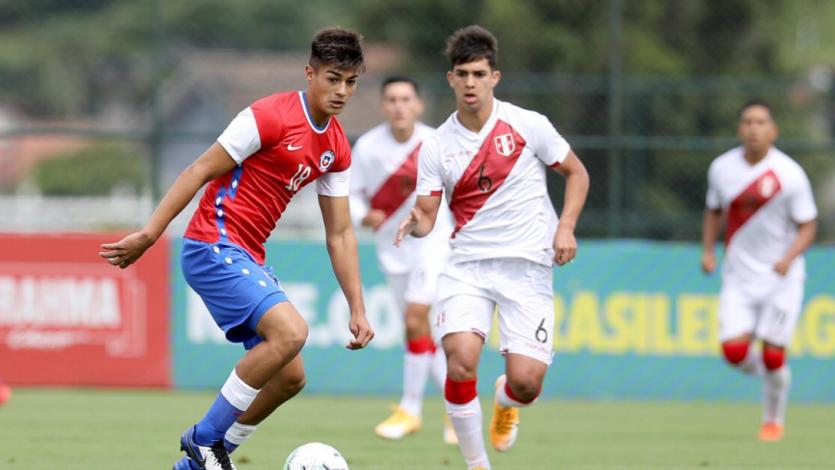 Selección Peruana Sub 20 cayó ante Chile en su primer duelo del cuadrangular amistoso en Brasil
