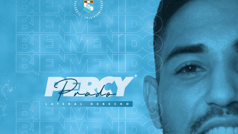 Sporting Cristal anunció el fichaje de Percy Prado