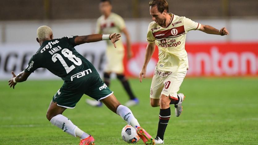 Copa Libertadores: Universitario no pudo en casa y perdió por 2-3 con Palmeiras (VIDEO)