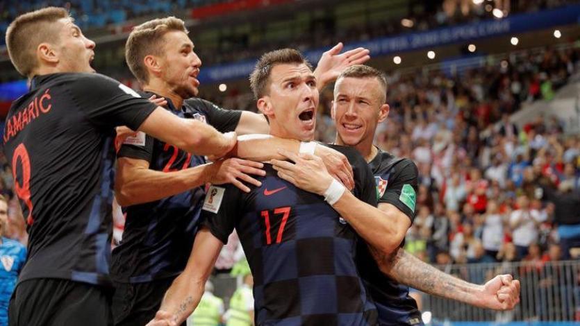 Rusia 2018: los datos curiosos que dejó el partido entre Croacia e Inglaterra
