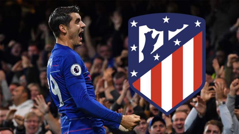 Álvaro Morata pone rumbo al Atlético Madrid