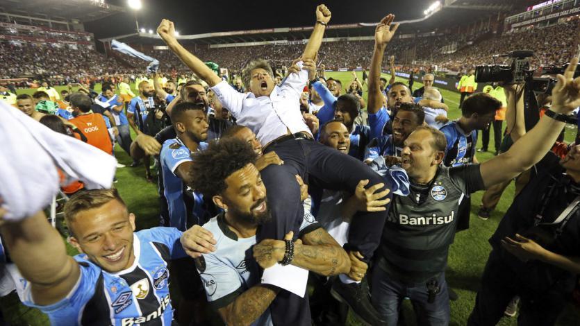 Copa Libertadores: Renato Gaúcho conquistó el certamen como jugador y técnico