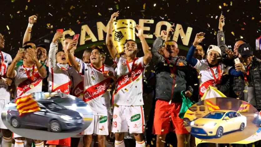 Copa Bicentenario: Hinchada de Atlético Grau salió a celebrar el título a las calles de Piura (VIDEO)
