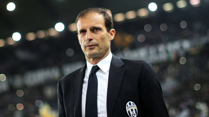 Massimilano Allegri no continuará como técnico de la Juventus