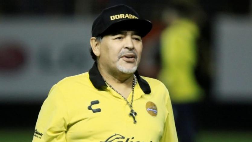 Diego Maradona internado de emergencia en Argentina