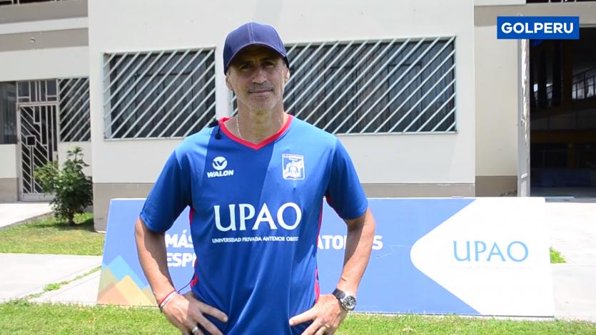 Carlos A. Mannucci: Pablo Peirano se mostró muy conforme con el plantel (VIDEO)