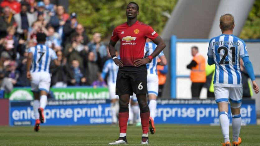 Manchester United no pudo ante Huddersfield y se quedó sin Champions League