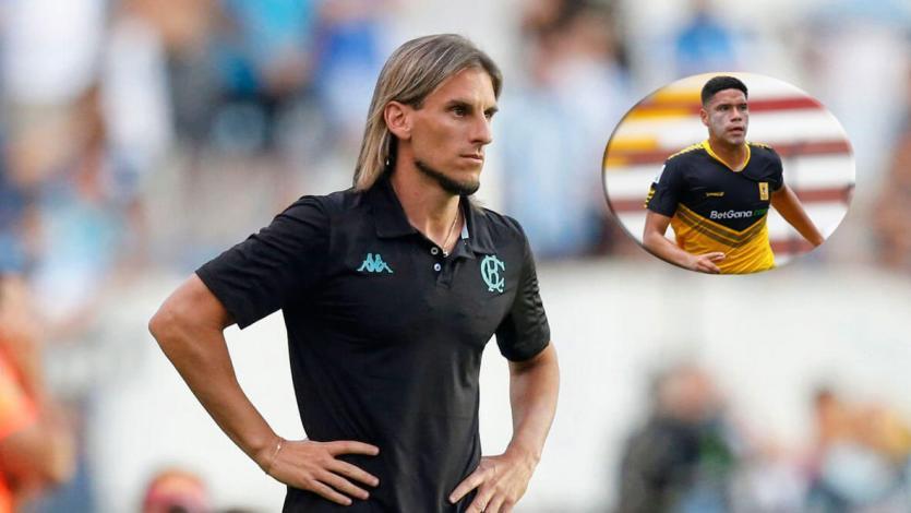 """Sebastián Becaccese: """"Yuriel Celi no será jugador de Racing en este mercado"""""""